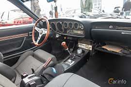 Interior of Toyota Celica Coupé 1.6 Manual, 86ps, 1974 at Vallåkraträffen 2019