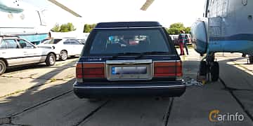 Back of Toyota Crown Wagon 2.5 Automatic, 180ps, 1995 at Old Car Land no.1 2019