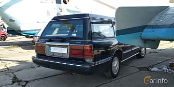 Close-up of Toyota Crown Wagon 2.5 Automatic, 180ps, 1995 at Old Car Land no.1 2019