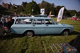 Sida av Toyota Crown 4-door Wagon 1968 på Tjolöholm Classic Motor 2018