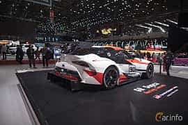 Back/Side of Toyota GR Supra Racing Concept Concept, 2018 at Geneva Motor Show 2018