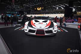 Front  of Toyota GR Supra Racing Concept Concept, 2018 at Geneva Motor Show 2018