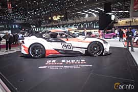 Side  of Toyota GR Supra Racing Concept Concept, 2018 at Geneva Motor Show 2018