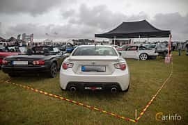 Back of Toyota GT86 2.0 Manual, 200ps, 2013 at Vallåkraträffen 2019
