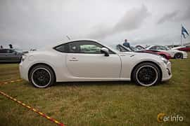 Side  of Toyota GT86 2.0 Manual, 200ps, 2013 at Vallåkraträffen 2019