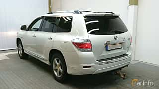 Back/Side of Toyota Highlander 3.5 V6 Hybrid AWD Automatic, 248ps, 2011