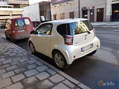 Back/Side of Toyota iQ 1.33 Dual VVT-i Manual, 98ps, 2009