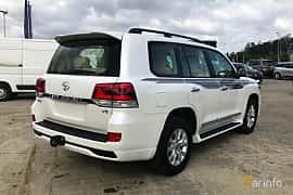 Bak/Sida av Toyota Land Cruiser 4.5 V8 D-4D 4WD Automatic, 272ps, 2017