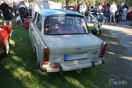 Back/Side of Trabant 601 Limousine 0.6 Manual, 26ps, 1990 at Onsdagsträffar på Gammlia Umeå 2019 vecka 27