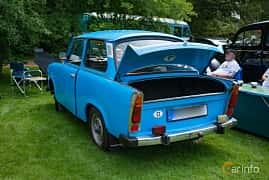 Bak/Sida av Trabant 601 Limousine 0.6 Manual, 26ps, 1980 på Sofiero Classic 2018