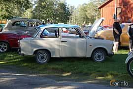 Side  of Trabant 601 Limousine 0.6 Manual, 26ps, 1990 at Onsdagsträffar på Gammlia Umeå 2019 vecka 27