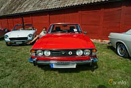 Front  of Triumph Stag 3.0 V8 Automatic, 147ps, 1977 at Sportbilsklassiker Stockamöllan 2019