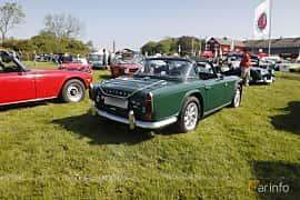 Back/Side of Triumph TR4 2.2 Manual, 106ps, 1966 at Tjolöholm Classic Motor 2018