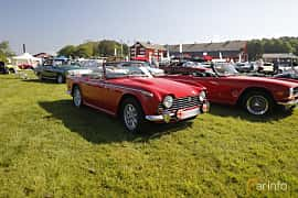 Front/Side  of Triumph TR5 2.5 Manual, 150ps, 1968 at Tjolöholm Classic Motor 2018