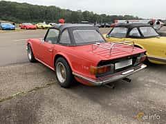 Back/Side of Triumph TR6 2.5 Manual, 150ps, 1972 at Svenskt sportvagnsmeeting 2019
