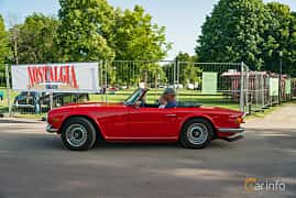 Side  of Triumph TR6 2.5 Manual, 150ps, 1969 at Ronneby Nostalgia Festival 2019