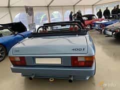 Back of TVR 350i Convertible 3.5 V8 Manual, 193ps, 1985 at Svenskt sportvagnsmeeting 2019