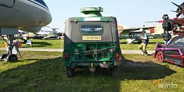 Back of UAZ 469 2.5 4WD Manual, 75ps, 1971 at Old Car Land no.1 2019