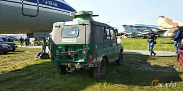 Back/Side of UAZ 469 2.5 4WD Manual, 75ps, 1971 at Old Car Land no.1 2019