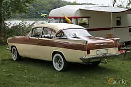 Back/Side of Vauxhall Cresta 2.7 Manual, 97ps, 1961 at Kungälvs Kulturhistoriska Fordonsvänner  2018 v.33