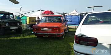 Back/Side of VAZ 2103 1.5 Manual, 75ps, 1974 at Old Car Land no.1 2019