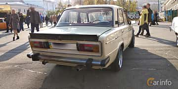 Back/Side of VAZ VAZ-21063 1.3 Manual, 64ps, 1990