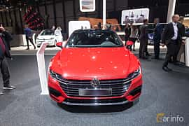 Front  of Volkswagen Arteon 2.0 TSI 4Motion DSG Sequential, 280ps, 2018 at Geneva Motor Show 2018