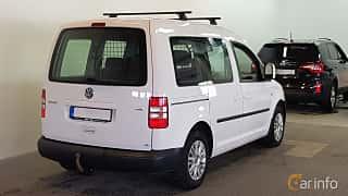 Bak/Sida av Volkswagen Caddy Life 1.6 TDI Manual, 75ps, 2014