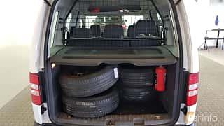 Närbild av Volkswagen Caddy Life 1.6 TDI Manual, 75ps, 2014