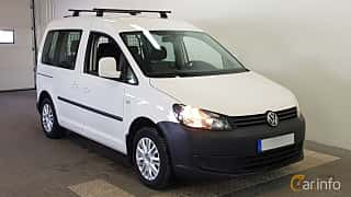 Fram/Sida av Volkswagen Caddy Life 1.6 TDI Manual, 75ps, 2014