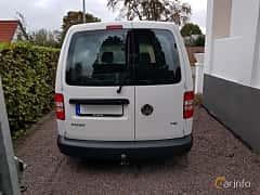 Back of Volkswagen Caddy Panel Van 1.2 TSI Manual, 86ps, 2013