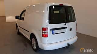 Bak/Sida av Volkswagen Caddy Panel Van 1.6 TDI DSG Sequential, 102ps, 2014