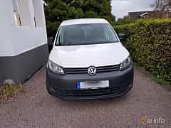 Front  of Volkswagen Caddy Panel Van 1.2 TSI Manual, 86ps, 2013