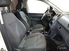 Interiör av Volkswagen Caddy Panel Van 2.0 TDI 4Motion Manual, 110ps, 2015