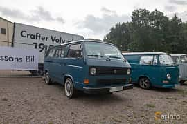 Front/Side  of Volkswagen Caravelle 1.9 Manual, 78ps, 1985 at West Coast Bug Meet 2019