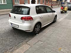 Back/Side of Volkswagen Golf 5-door 1.6 TDI DSG Sequential, 105ps, 2013