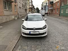 Front  of Volkswagen Golf 5-door 1.6 TDI DSG Sequential, 105ps, 2013