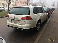 Back/Side of Volkswagen Golf Alltrack 1.8 TSI 4Motion DSG Sequential, 180ps, 2016