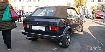 Bak/Sida av Volkswagen Golf Cabriolet 1.8 Manual, 90ps, 1985