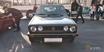 Fram av Volkswagen Golf Cabriolet 1.8 Manual, 90ps, 1985