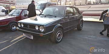 Fram/Sida av Volkswagen Golf Cabriolet 1.8 Manual, 90ps, 1985