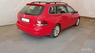 Bak/Sida av Volkswagen Golf Variant 1.6 TDI Manual, 105ps, 2012