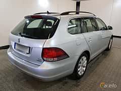 Bak/Sida av Volkswagen Golf Variant 1.6 TDI DSG Sequential, 105ps, 2011