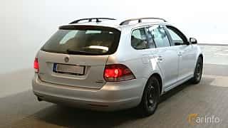 Bak/Sida av Volkswagen Golf Variant 1.6 TDI Manual, 105ps, 2013