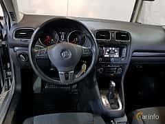 Interiör av Volkswagen Golf Variant 1.6 TDI DSG Sequential, 105ps, 2011
