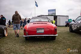 Back of Volkswagen Karmann-Ghia 1200 1.2 Manual, 30ps, 1957 at Vallåkraträffen 2018