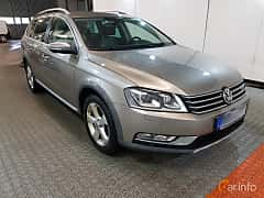 Front/Side  of Volkswagen Passat Alltrack 2.0 TDI BlueMotion 4Motion DSG Sequential, 177ps, 2015