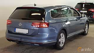 Bak/Sida av Volkswagen Passat Variant 2.0 TDI SCR BlueMotion DSG Sequential, 190ps, 2015