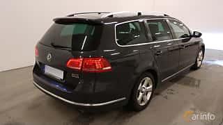 Bak/Sida av Volkswagen Passat Variant 2.0 TDI BlueMotion 4Motion DSG Sequential, 170ps, 2013