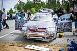 Fram av Volkswagen Passat Variant 1.9 TDI 4Motion Manual, 130ps, 2004 på Biltema Meet, Växjö 2018